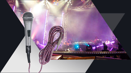 PRO WIRED MICROPHONE SERIE