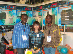 2011 Exhibition in South Africa